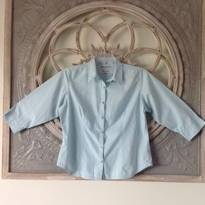 COLUMBIA SPORTSWEAR 3/4 SLEEVE FITTED TOP
